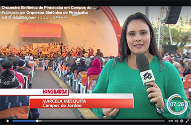 Reportagem da TV Vanguarda - Campos do Jordão